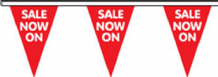 Sale Now On Superior Bunting 10m (32') Long With 24 Flags